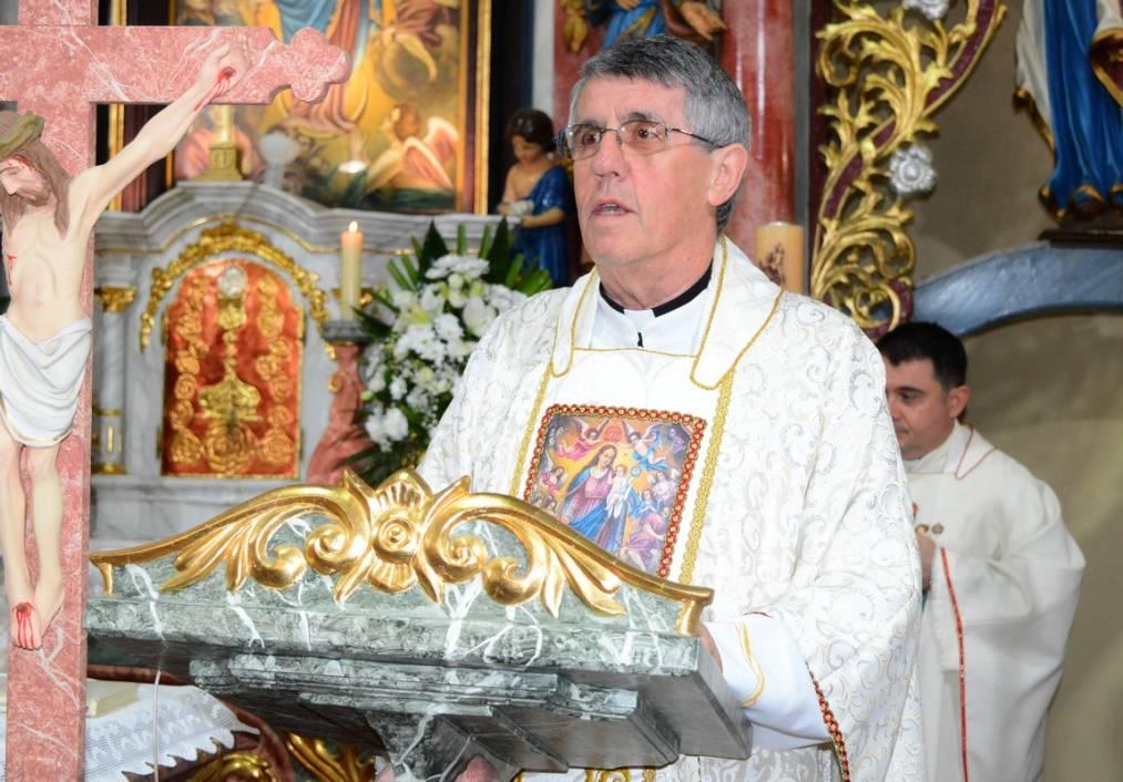 Mons. Leonard Markač, župnik u Župi Uznesenja Blažene Djevice Marije u Močilama