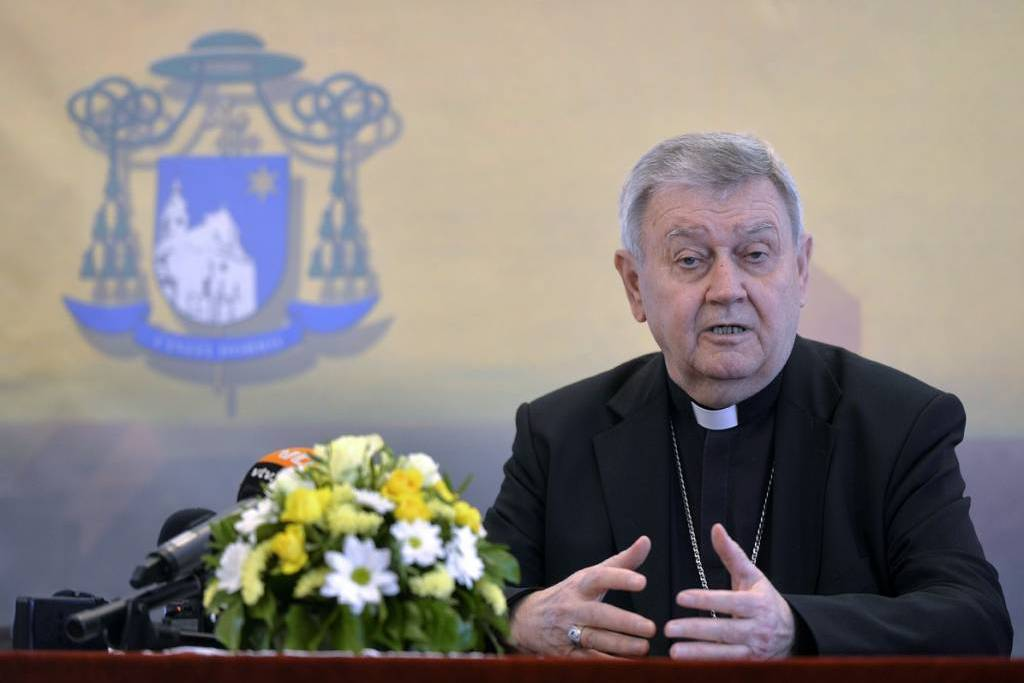 Varaždinski biskup mons. Josip Mrzljak