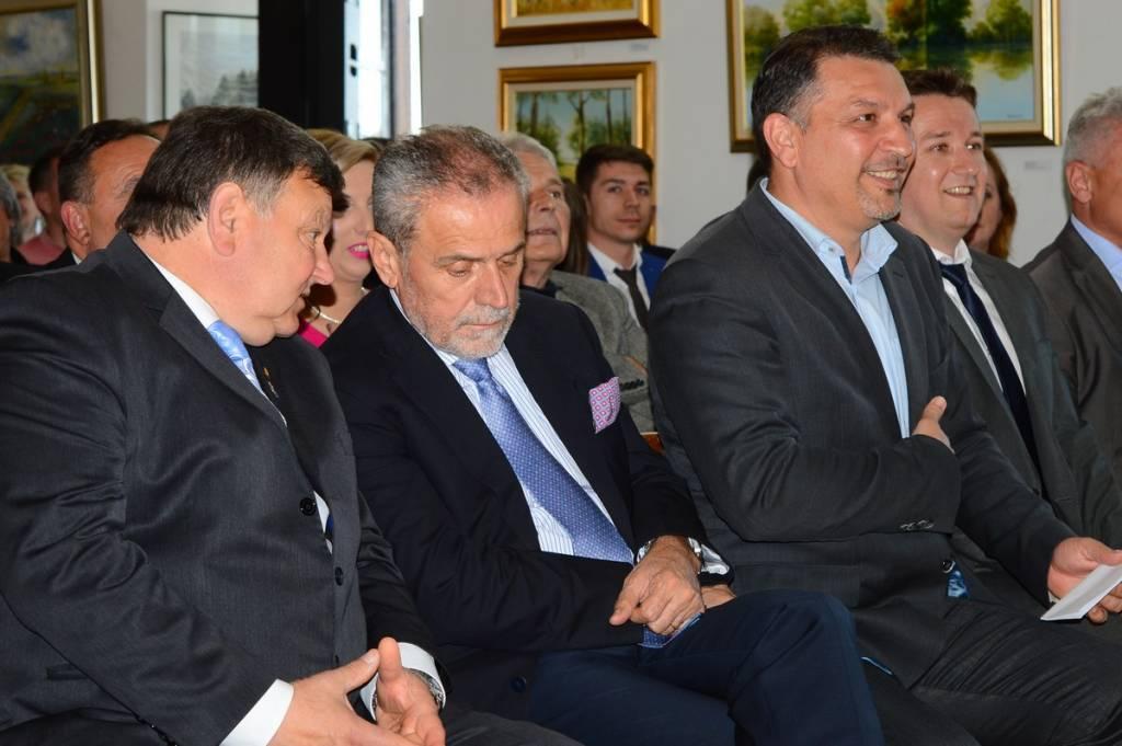 Mladen Markač, Milan Bandić, Željko Lacković i Hrvoje Janči