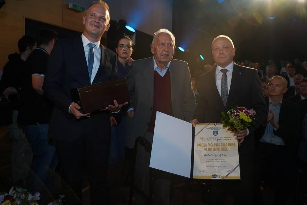 Pavle Gaži počasni građanin Koprivnice