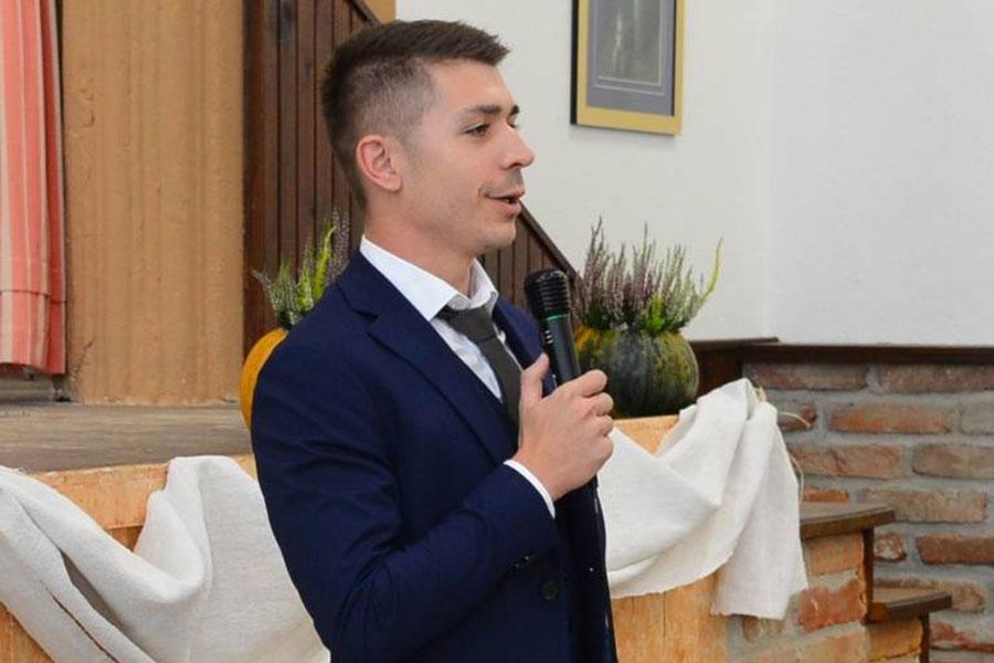 Načelnik općine Drnje Petar Dombaj