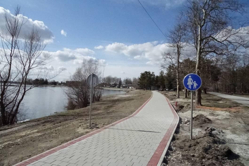 Izgradnja šetnice na jezeru Šoderica