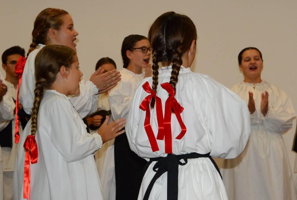 Nastup folkloraša na Danu Općine Koprivnički Bregi