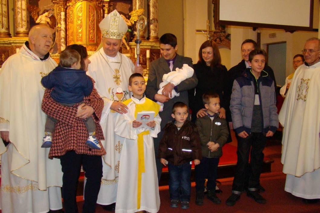 Biskup Mrzljak u Koprivnici