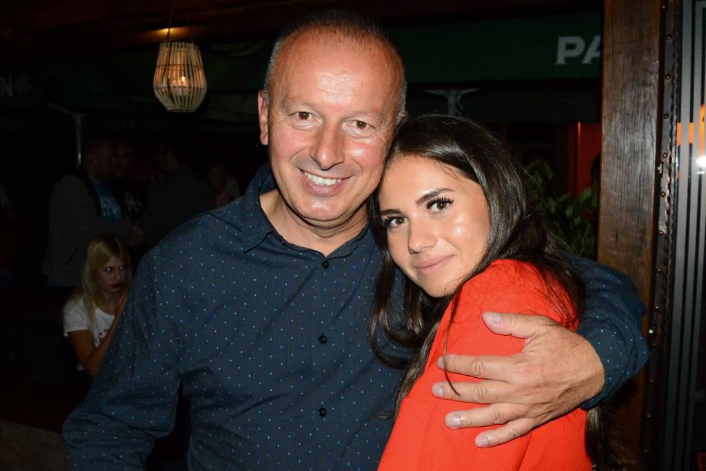 Caffe Bar Maraschino - Goran Milanović i kćerka Nataša Milanović