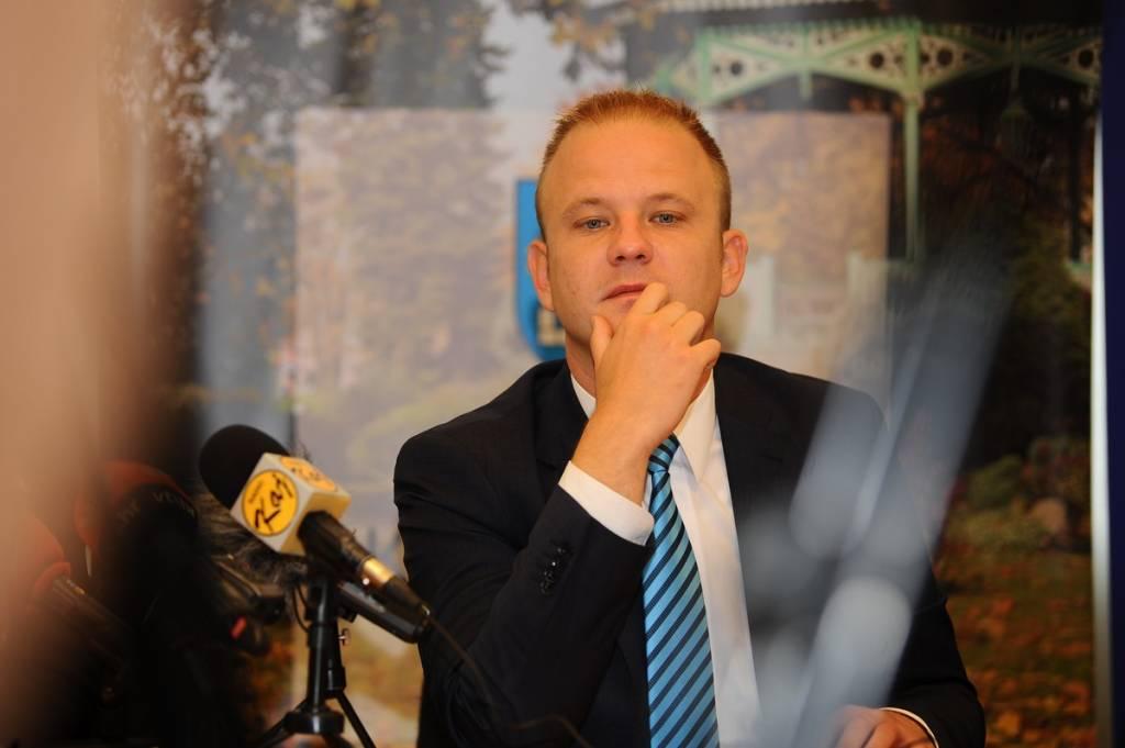 Gradonačelnik Koprivnice Mišel Jakšić
