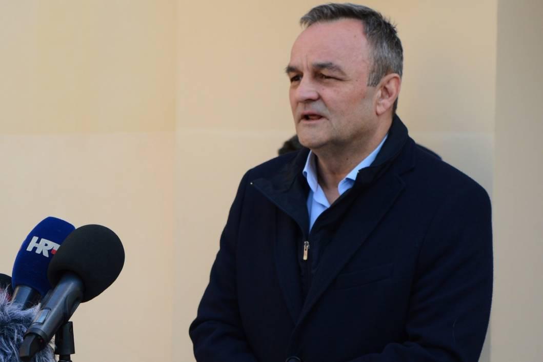Načelnik županijskog Stožera civilne zaštite i dožupan koprivničko-križevački Ratimir Ljubić