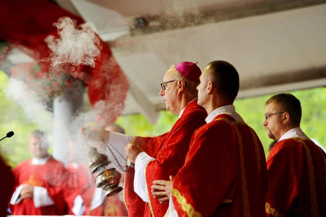 Sveta nedjelja u Ludbregu - misa