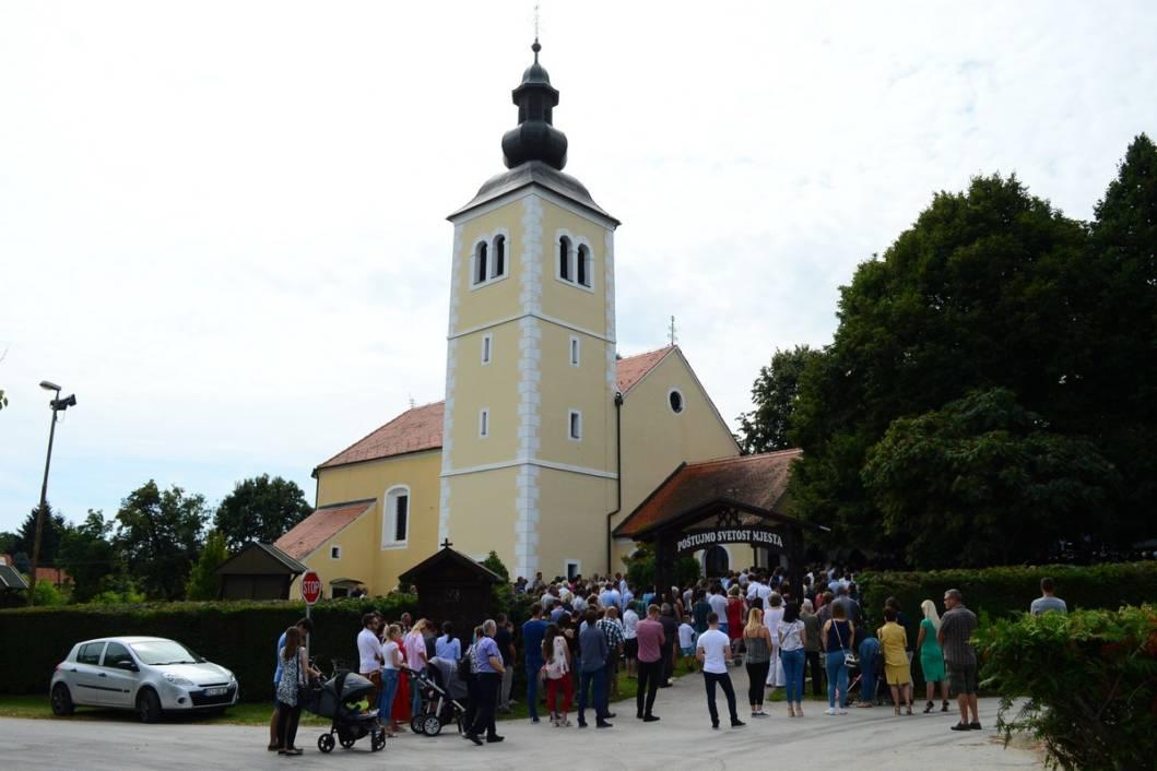 Župna crkva u Močilama