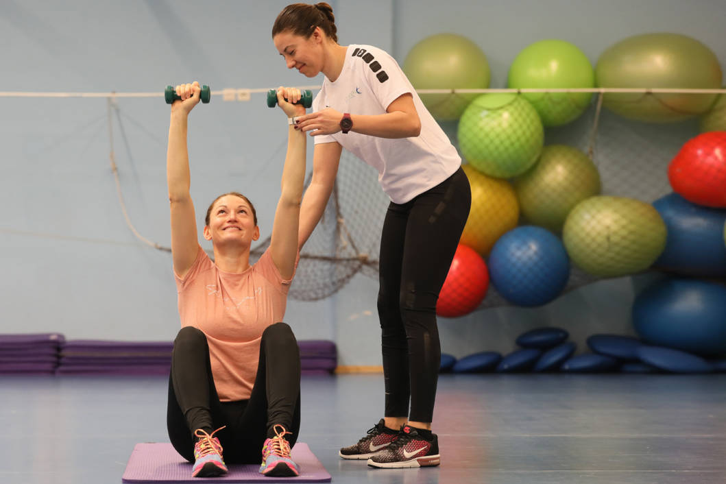Trening u Sportskom centru Cerine u Koprivnici