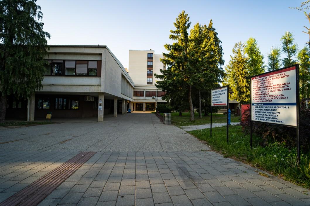 Opća bolnica dr. Tomislav Bardek u Koprivnici // Foto: Luka Krušec / LuMedia
