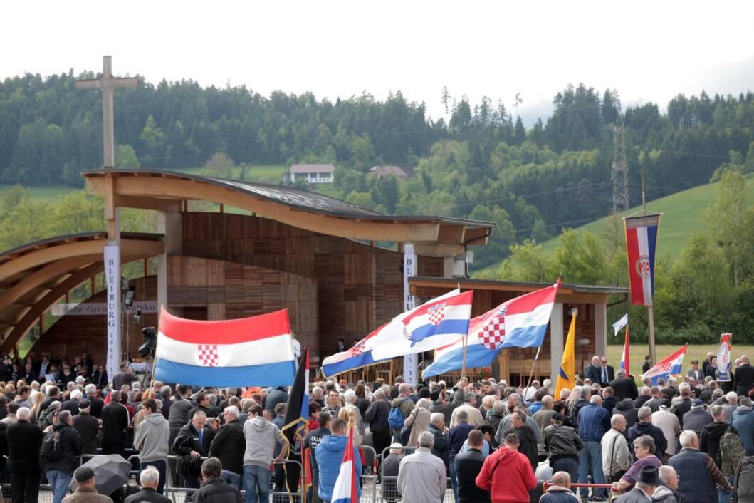 Komemoracija na Bleiburškom polju u Austriji