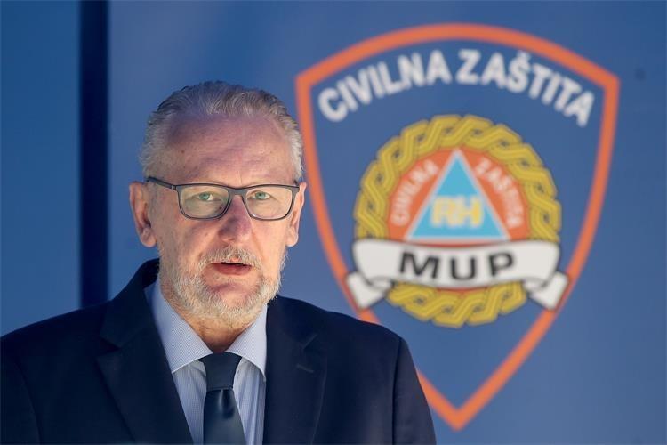Ministar unutarnjih poslova i načelnik nacionalnog Stožera civilne zaštite Davor Božinović