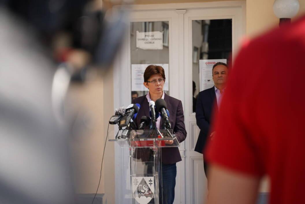 Draženka Vadla, ravnateljica Zavoda za javno zdravstvo Koprivničko-križevačke županije // Foto: Luka Krušec // LuMedia