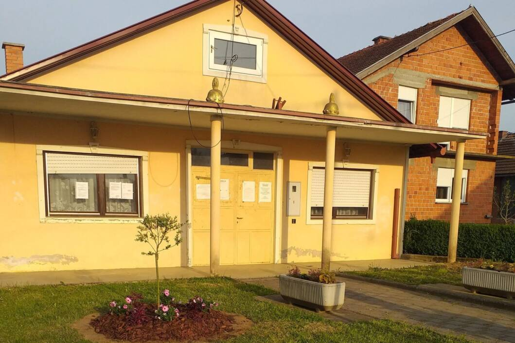 Uređenje prostora oko društvenog doma u Goričkom