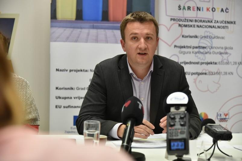 Gradonačelnik Đurđevca Hrvoje Janči
