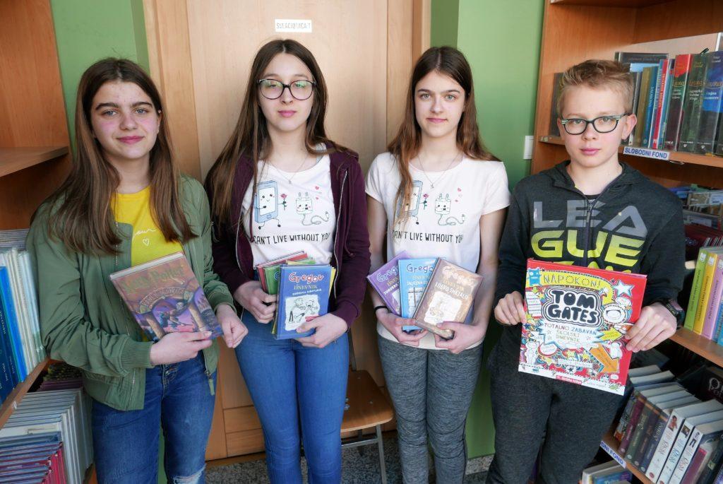 Učenici u đurđevačkoj knjižnici