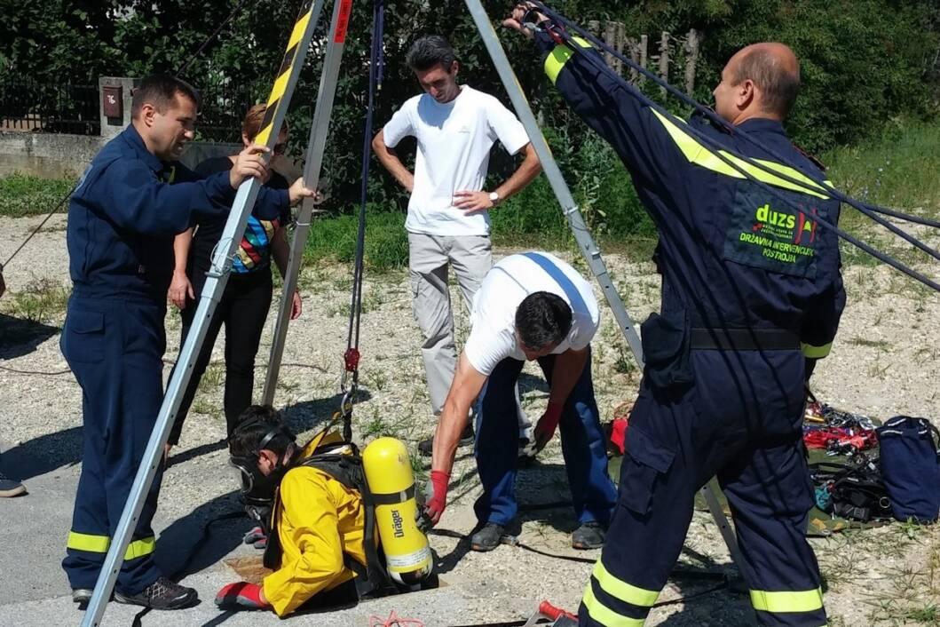 Djelatnici Koprivničkih voda na intervenciji