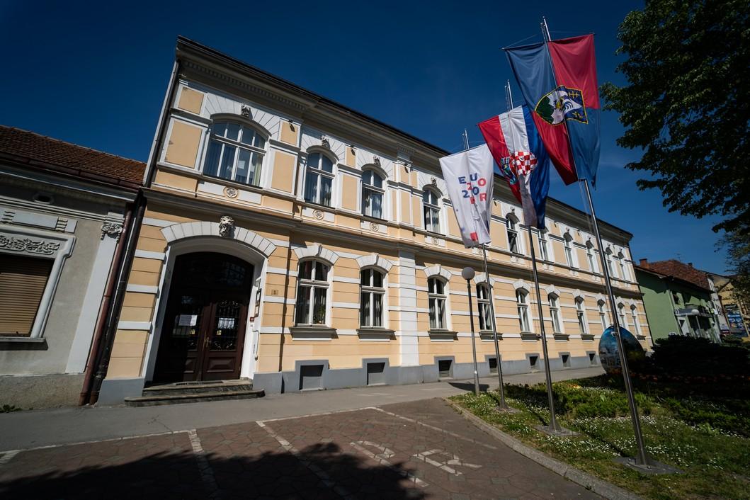 Zgrada Koprivničko križevačke Županije // Foto: Luka Krušec / LuMedia