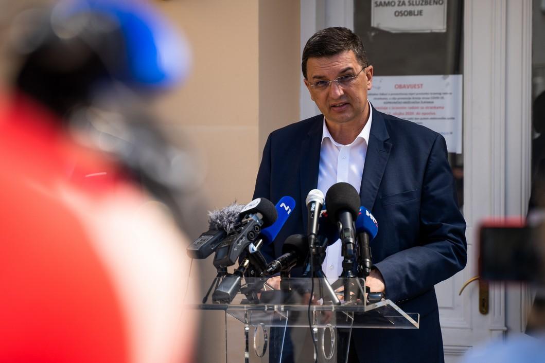 Ravnatelj bolnice Mato Devčić // Foto: Luka Krušec / LuMedia