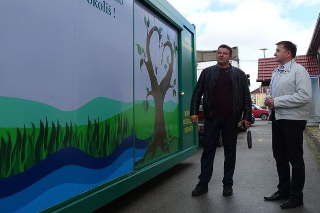 Mobilno reciklažno dvorište zajednički je projekt općina Veliki i Mali Bukovec i njihovih načelnika Franje Vrbanića i Darka Markovića