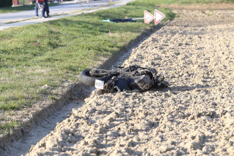 Poginuli motociklist