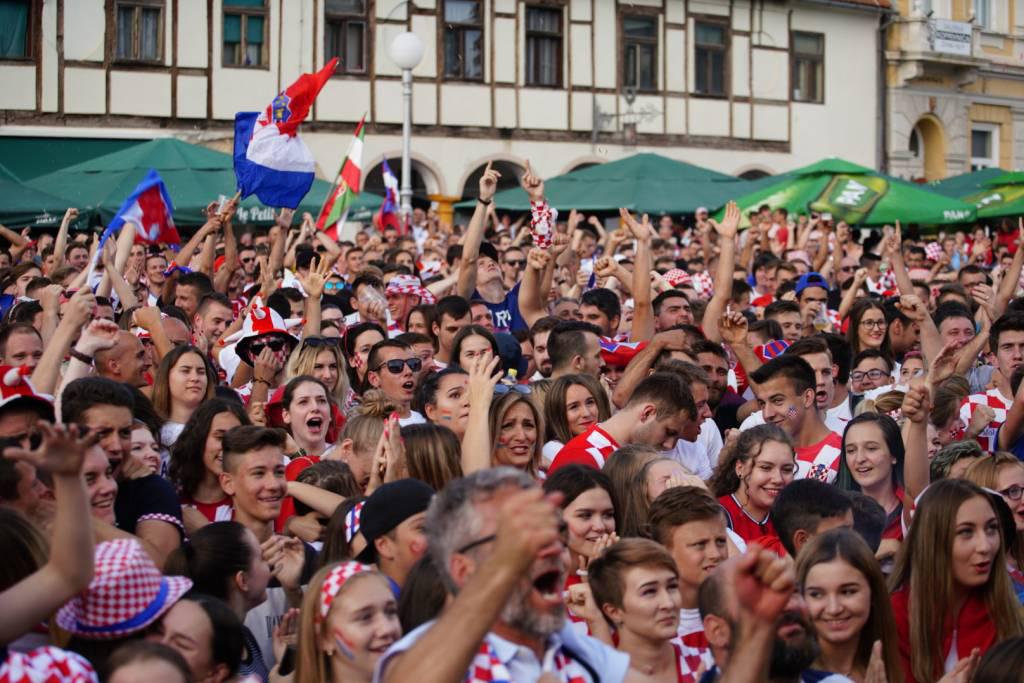 Navijači u Koprivnici