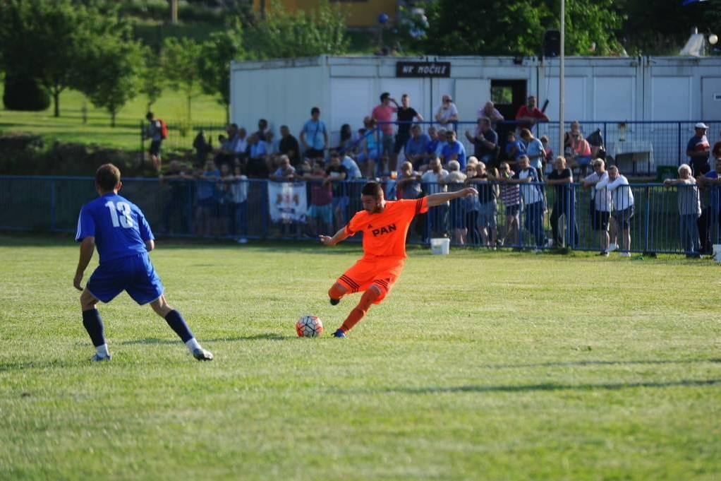 Igor Čani na utakmici u Močilama