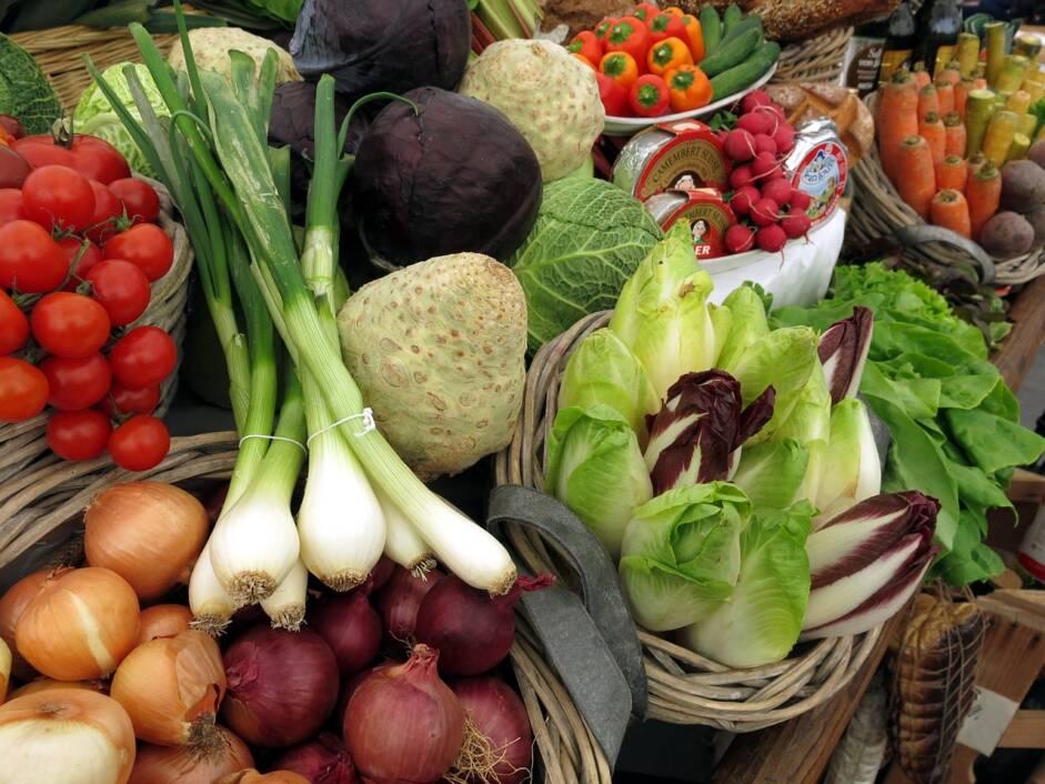 Povrće na tržnici