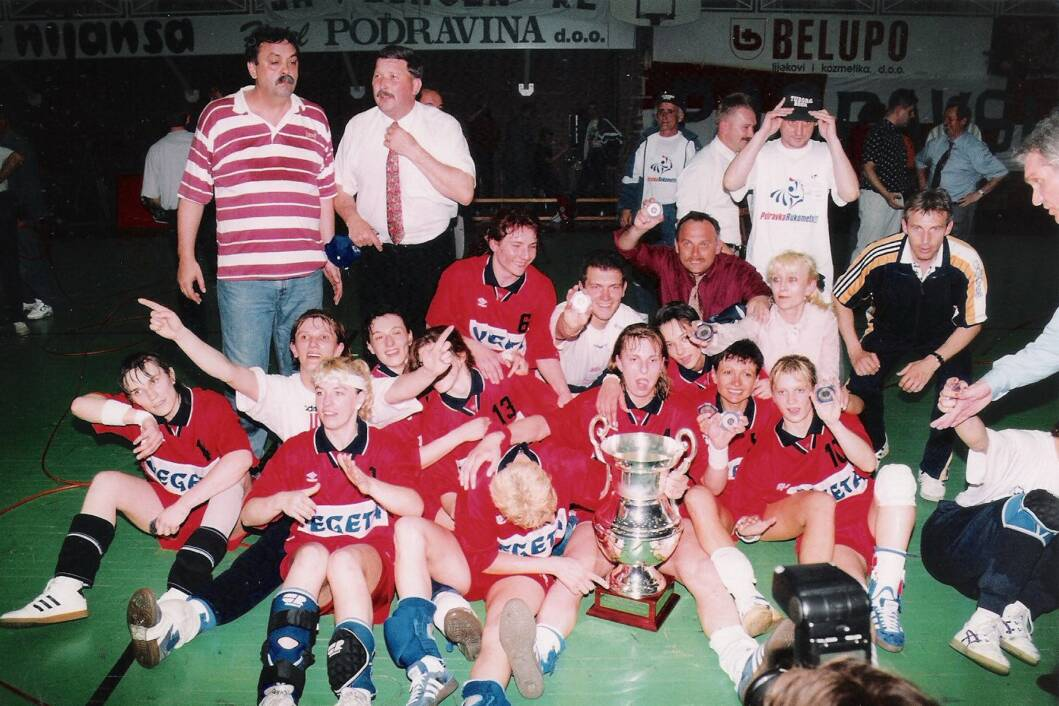 Podravka je osvojila Ligu prvakinja 1996. godine