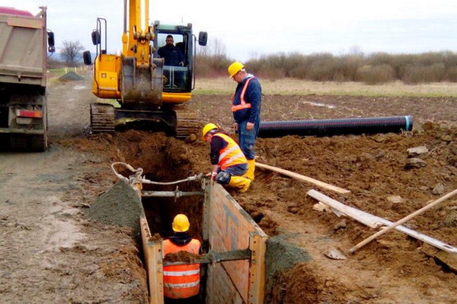 Radovi na kanalizacijskoj mreži