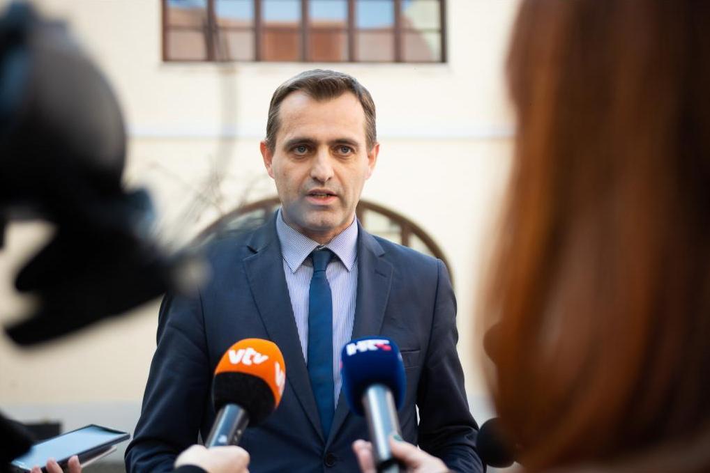 Načelnik Stožera civilne zaštite Varaždinske županije Robert Vugrin
