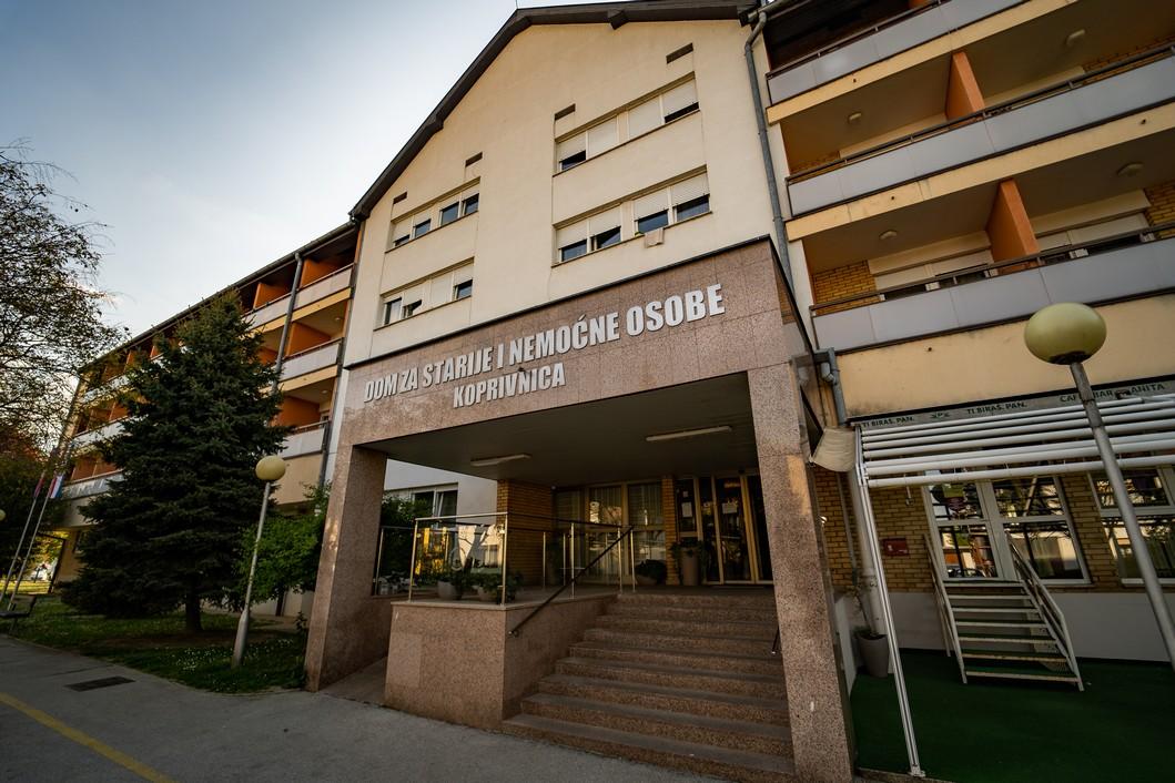 Dom za starije i nemoćne osobe Koprivnica // Foto: Luka Krušec / LuMedia