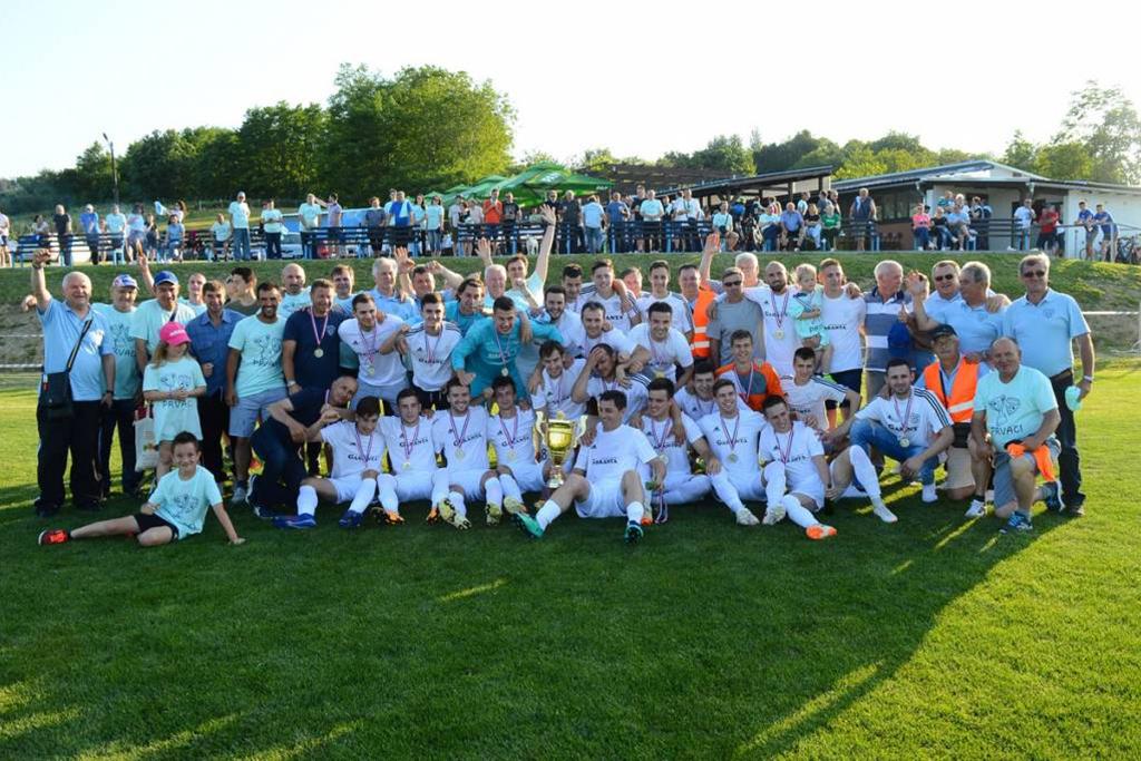 Veliko slavlje u Cvetkovcu nakon osvojenog naslova