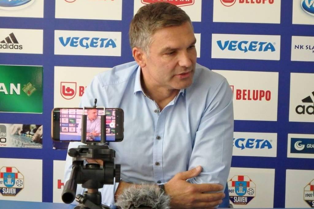 Tomislav Stipić, trener Slavena Belupa