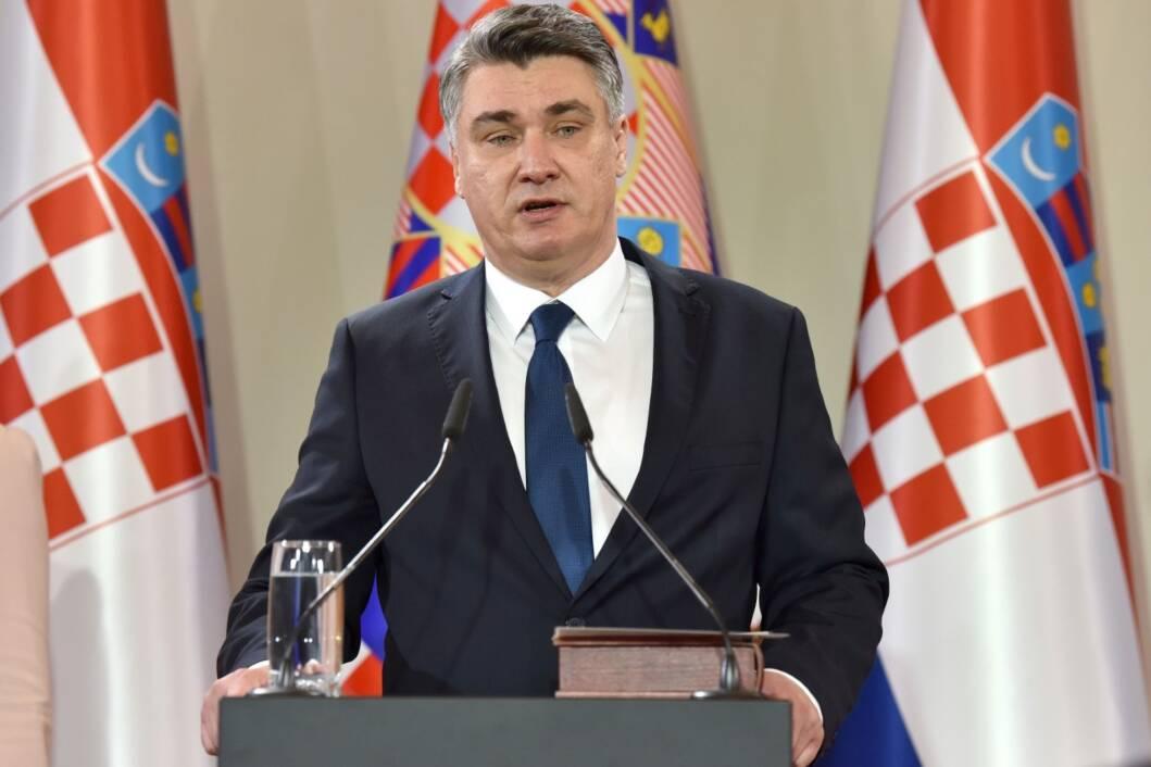 Zoran Milanović, hrvatski predsjednik