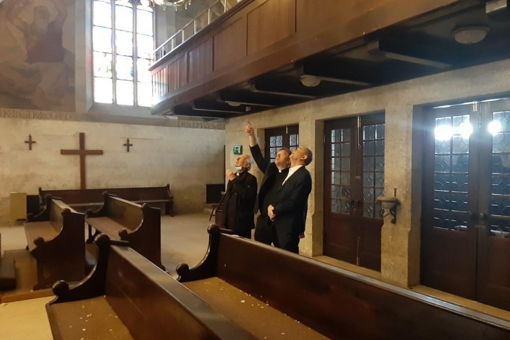 Darko Koren uručio donaciju za obnovu crkve sv. Marka Evanđeliste stradale u potresu