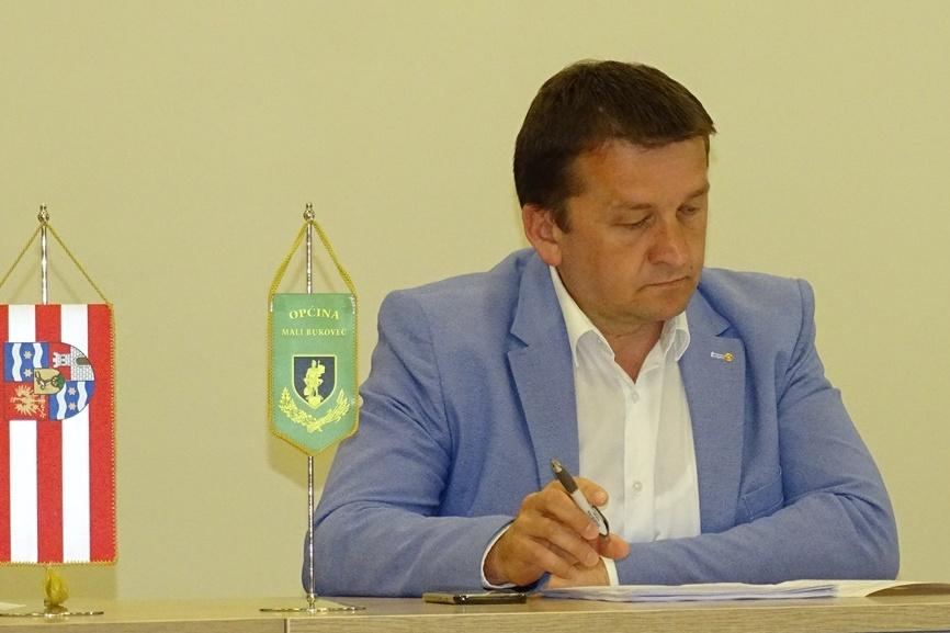 Darko Marković, načelnik Općine Mali Bukovec