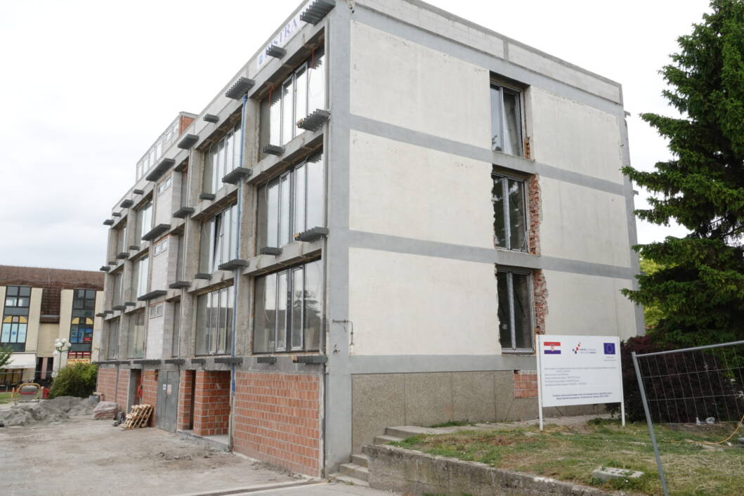Energetska obnova bivše zgrade MUP-a u Đurđevcu