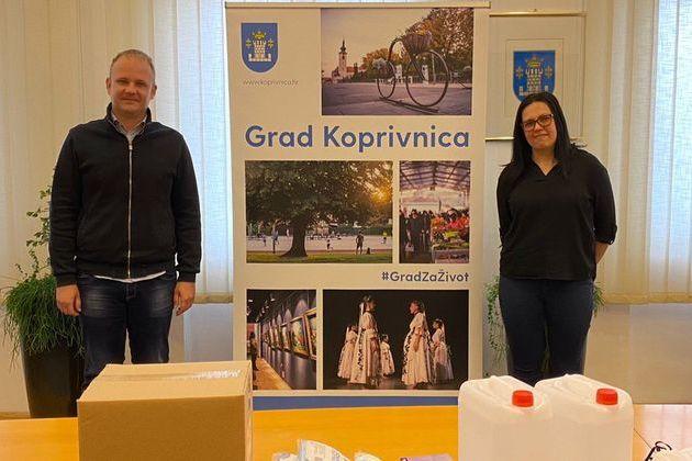 Donacija Grada Koprivnice Klubu Mariška