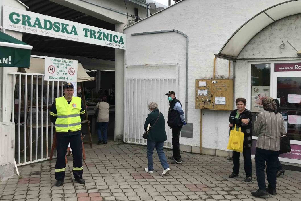 Gradska tržnica Đurđevac