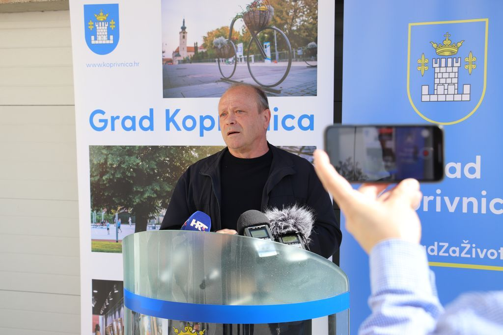 Ivan Pal, predsjednik koprivničkog Gradskog vijeća