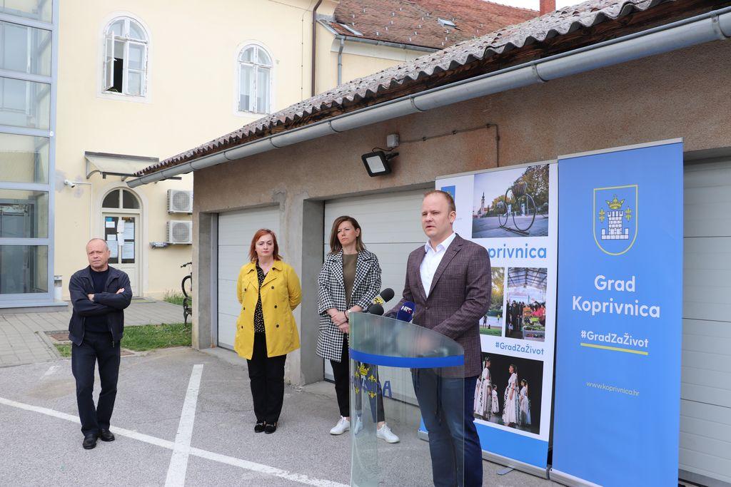 Ivan Pal, Melita Samoborec, Ksenija Ostriž i Mišel Jakšić