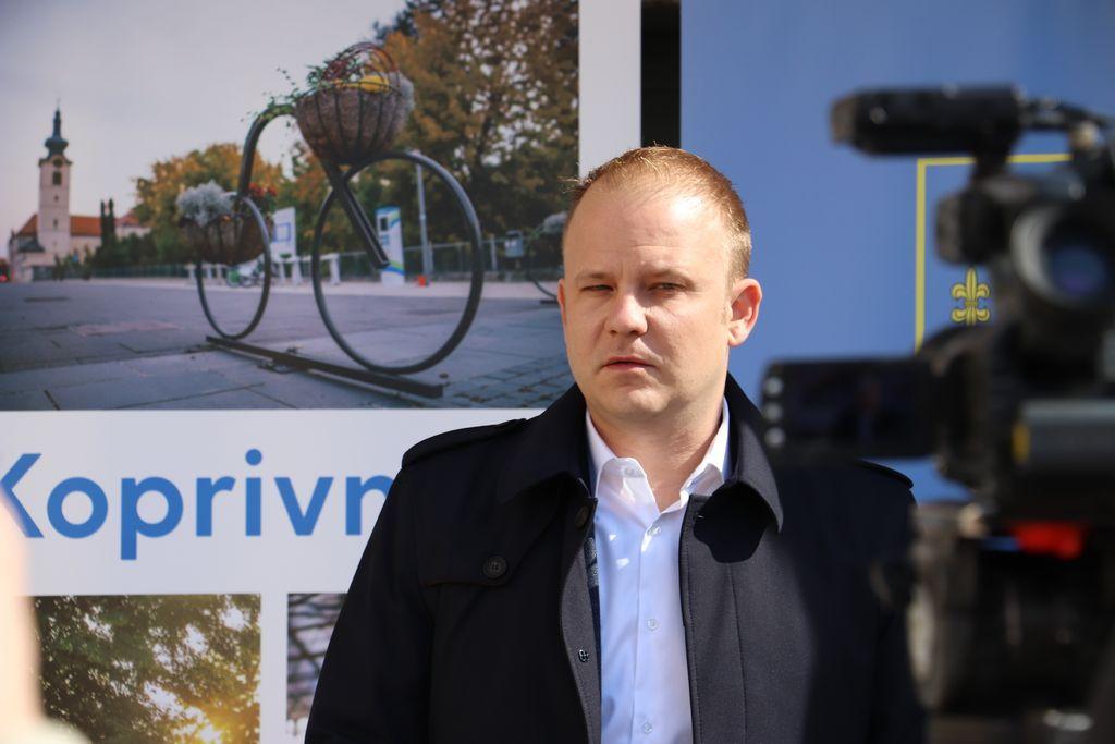 Koprivnički gradonačelnik Mišel Jakšić