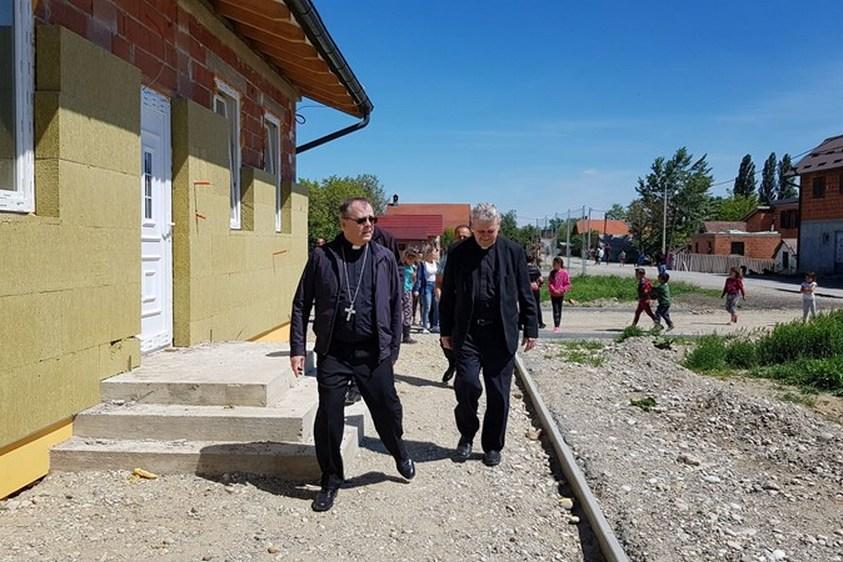 Multifunkcionalni centar 'Sveti Ivan Krstitelj' u romskom naselju u župi Petrijanec