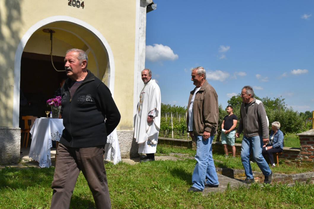 Sveta misa za blagdan Spasova na Triokraljskom bregu