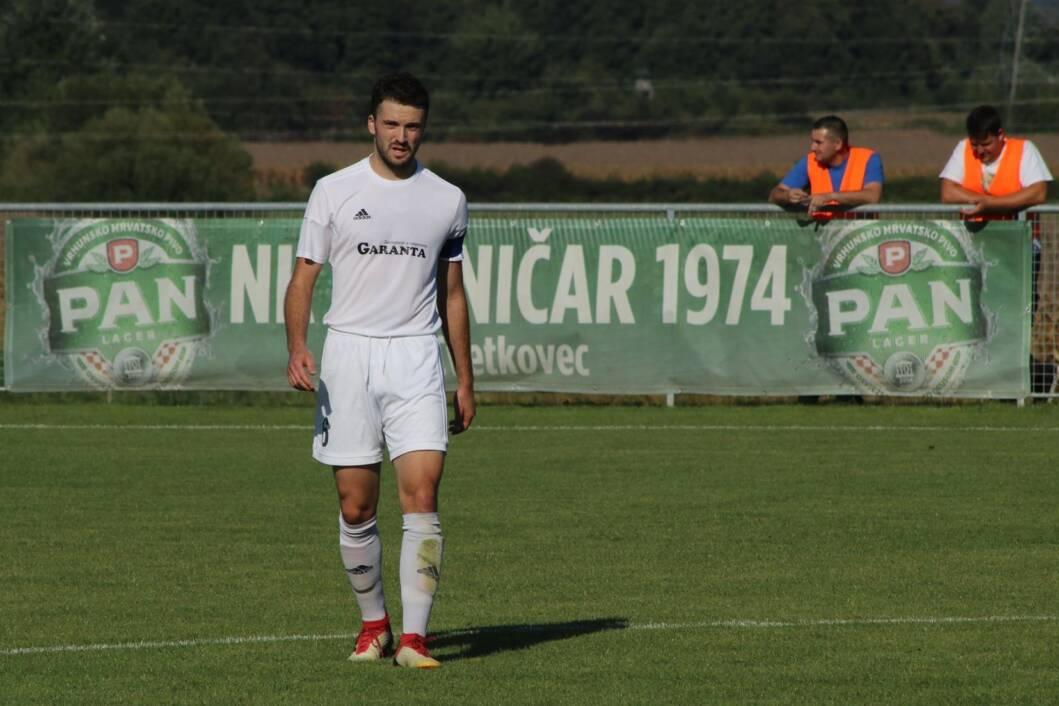 Nikola Grabar u vrijeme igranja za Tehničar iz Cvetkovca