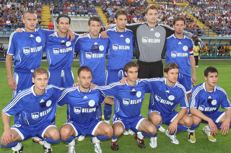 Povijesna utakmica između NK Slaven Belupo i ARIS FC igrana u Koprivnici