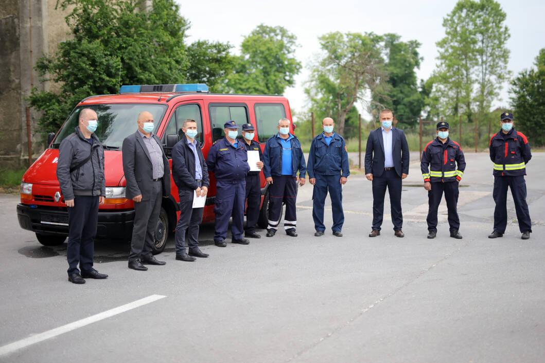 Podravka donirala DVD-u Ladislav vatrogasno vozilo