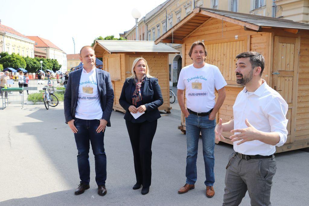 Predstavljanje inicijative Podravski ceker – kupujmo lokalno